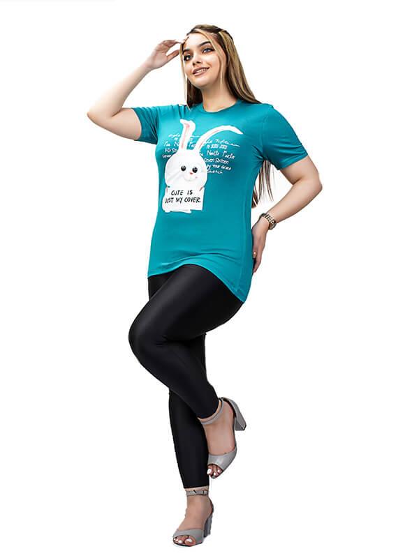 تاپ-آستین-افتاده-طرح-خرگوش-کد-۱۲۶۷